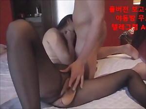 Korean girl, blowjob and orgasm