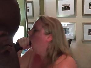 Man sharing his hefty wife