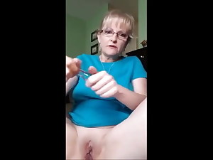 Granny's First-ever Butt-plug